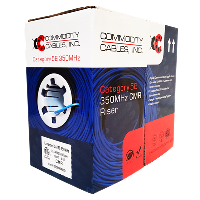 Blue Commodity Cables Cat 5e Cable Pull Box