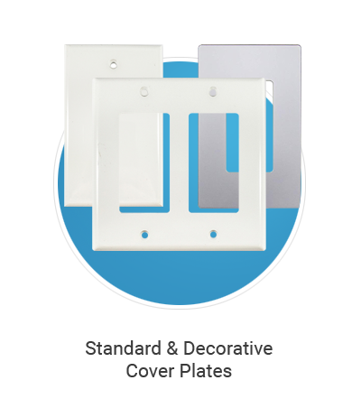 standard & decorative cover plates