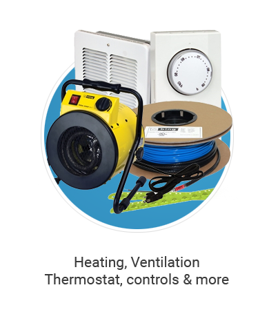heating, ventilation, thermostat, controls & more