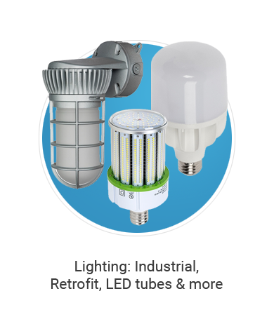 Lighting: industrial, retrofit, led tubes & more